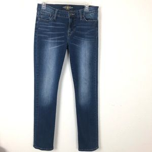 Lucky Brand Brooke Distressed Straight Jean 6/28